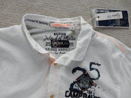 Camp David Hemd creme weiß Gr. M ausgefallen. NEU Herren