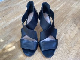 Camper Wedge Sandals black