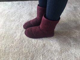 Canadians Schuhe Weinrot