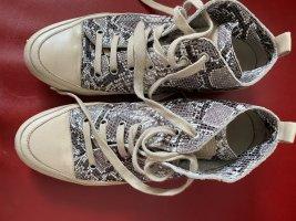 Candice Cooper Sneaker alta multicolore Pelle
