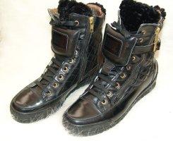 Candice Cooper Low boot noir-doré