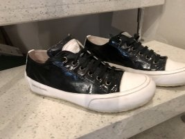 Candice Cooper Sneakers met veters zwart-wit