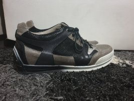 Candice Cooper Sneaker stringata nero-grigio-verde