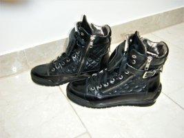 Candice Cooper Sneaker alta nero