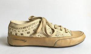 Candice Cooper Sneaker Leder ROCK/ FILO ORO ASIA PANNA Gr. 40