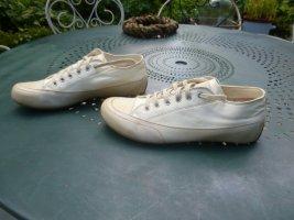 Candice Cooper Sneaker Lederschuh Gr. 41 Creme