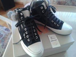 Candice Cooper Sneaker mit Pelzbommel NEU