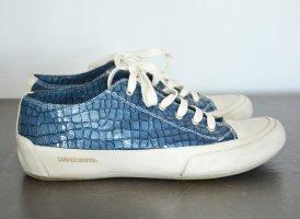 Candice Cooper Sneaker Sneakers Schuhe Animalmuster blau 40