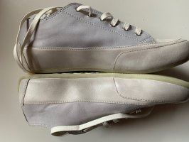 Candice Cooper Lace-Up Sneaker light grey-natural white leather