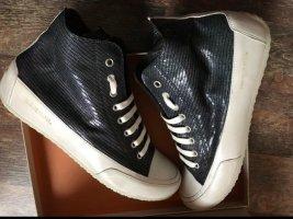 Candice Cooper Sneakers Plus Zip Schwarz/Weiß Gr.38 Neu NP 229€