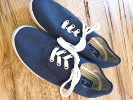 Tom Tailor Zapatos de marinero azul oscuro