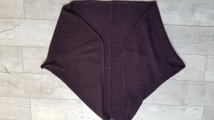 Opus Shoulder Scarf anthracite-blackberry-red