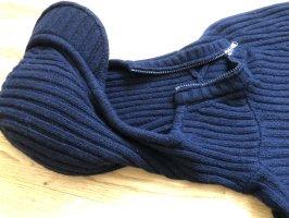 Max Mara Pullover in cashmere blu scuro