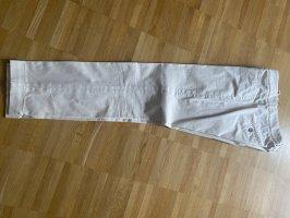 Cappellini Klassische Hose aus beiger Baumwolle