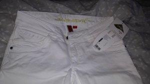 edc by Esprit Pantalon capri blanc