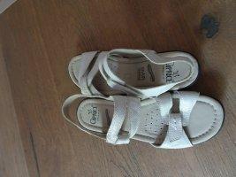 Caprice Sandalo comodo bianco sporco-argento