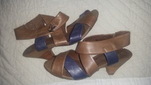 Caprice Sandals grey brown-slate-gray