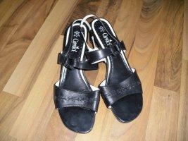Caprice Clog Sandals black