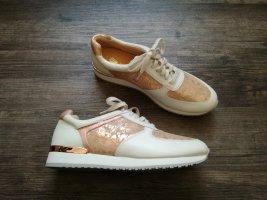 *Caprice* Sneaker / Gr. 39 (UK 6) / weiß-rosa – NEU - NP 69,95€