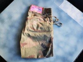 Caprihose Camouflage, Ocker, Pink (Box 9)
