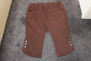 Capris brown cotton
