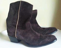 Car Shoe, Wildleder-Stiefelette, braun, Größe 39,5