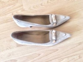 Car Shoe Stiletto beige clair
