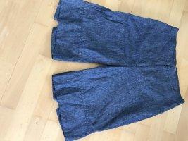 Shorts blu fiordaliso Lino