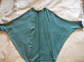 Abrigo de punto turquesa