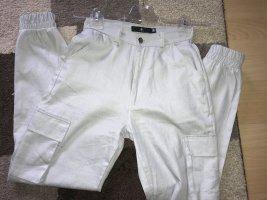 Missguided Pantalon cargo gris clair