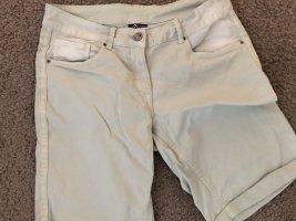Pantaloncino di jeans menta