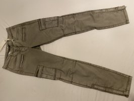 Cambio Cargo Pants green grey-grey brown