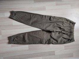 Devided von H&M Pantalon cargo kaki