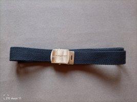 Carhartt Cinturón de tela azul oscuro