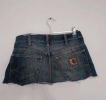Carhartt Gonna di jeans multicolore