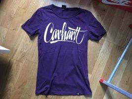 Carhartt T-shirt bianco-lilla
