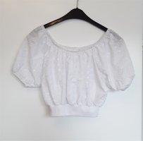 Carmen blouse wit Polyester