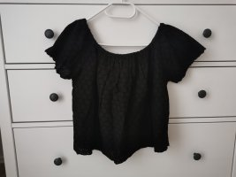 Zara Koszula typu carmen czarny