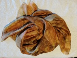 Handmade Pañuelo de seda multicolor