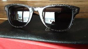 Carrera Hoekige zonnebril zwart-zilver