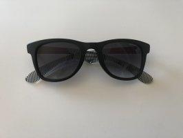 Carrera Occhiale da sole spigoloso nero-rosso