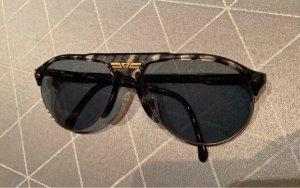 Carrera Gafas de piloto negro-color oro