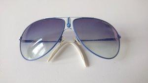 Carrera Gafas de sol ovaladas blanco-azul