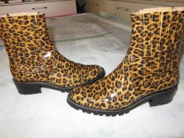 Carrière Bottines à enfiler multicolore cuir