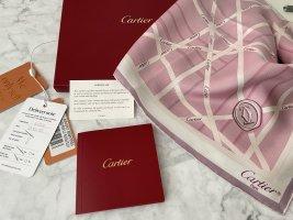 Cartier Pañuelo de seda multicolor