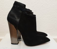 Casadei Ankle Boots black-silver-colored