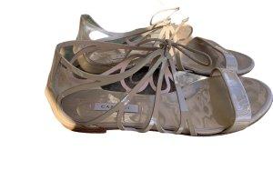 Casadei Roman Sandals cream