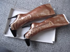Casadei Wysokie buty na obcasie czarny