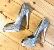 Casadei High Heels silver-colored