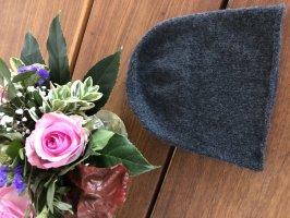 H&M Chapeau en tricot gris anthracite-gris foncé